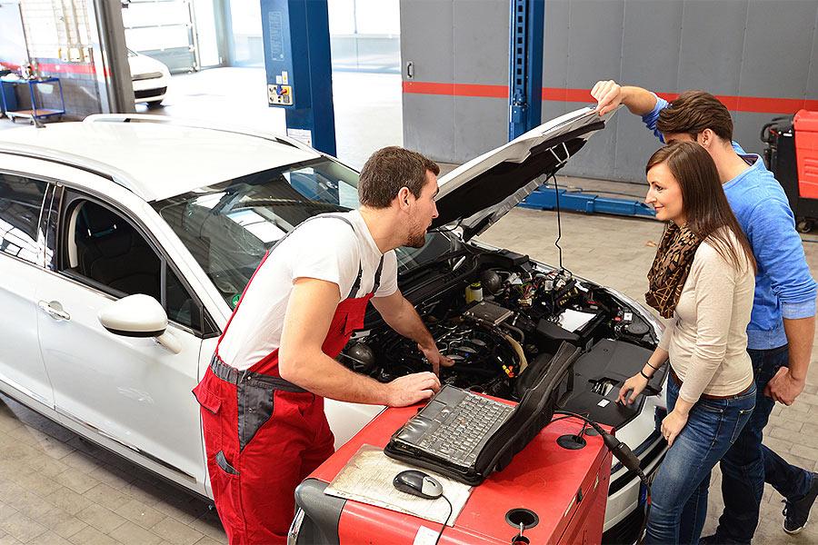 Entretien r paration auto voiture gu rande la baule for Pret voiture garage